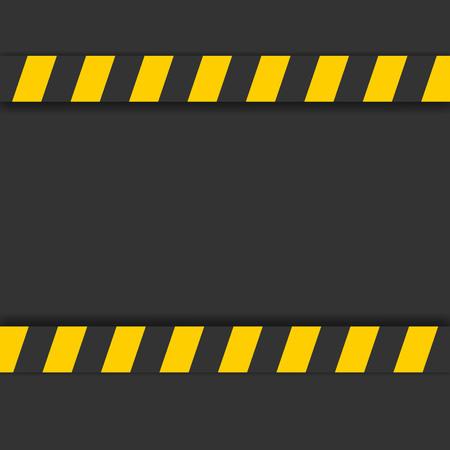 detailed illustration of a industrial danger lines background