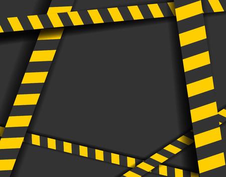 Detaillierte Darstellung einer industriellen Gefahr Linien Hintergrund Standard-Bild - 95733811
