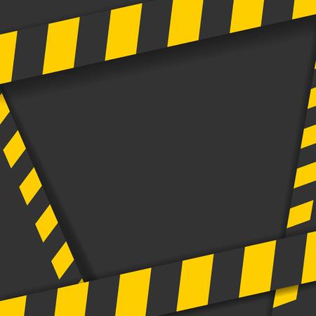 Detaillierte Darstellung einer industriellen Gefahr Linien Hintergrund Standard-Bild - 95642366