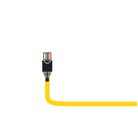 cable icon vector illustration.