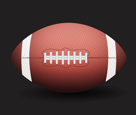 Vector American Football Illustration