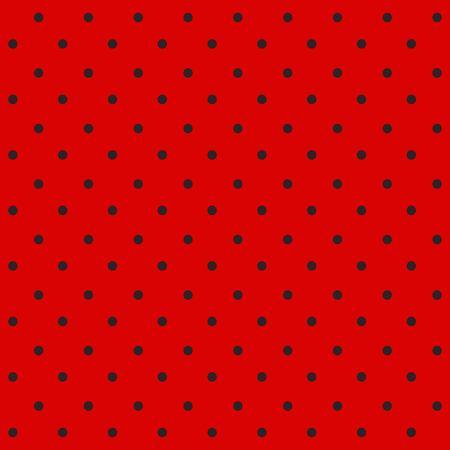 Ladybug pattern. Seamless vector