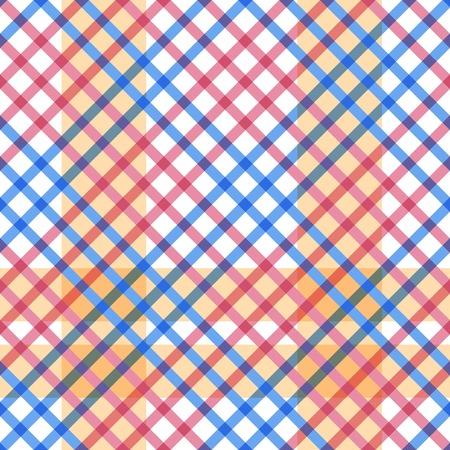 Plaid texture vector seamless pattern.