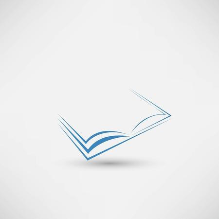 Vektorbuch-Symbol Vektorgrafik