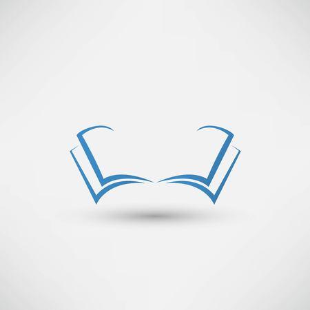 Vector book Icon Zdjęcie Seryjne - 125248405