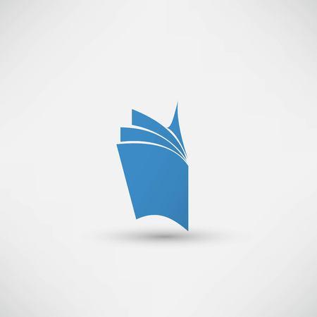 Vector book Icon Иллюстрация