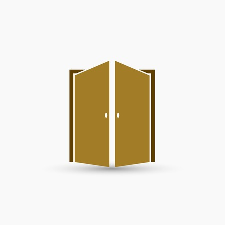 Door vector icon