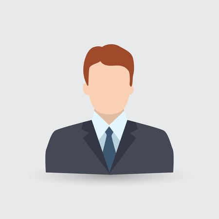 Business man Icon 免版税图像 - 125251706