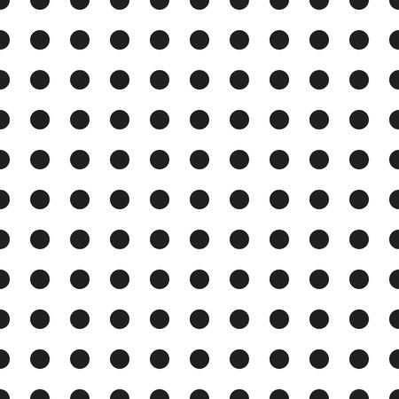 seamless polka dot pattern 矢量图像