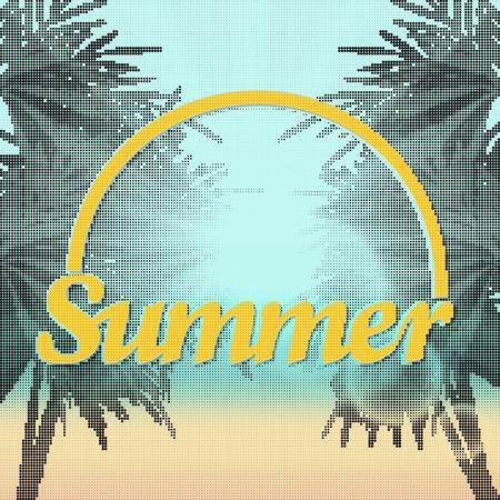 Summer. Sunset Beach.