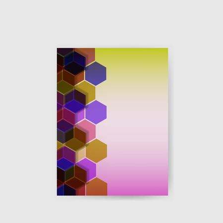 Hi-tech abstract background poster . Geometric vector design