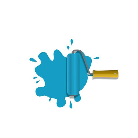 Paint roller icon Ilustrace
