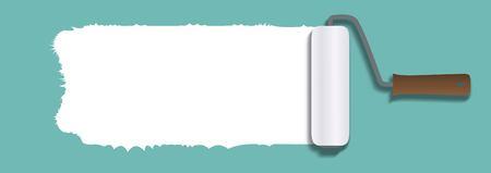Paint roller icon Ilustração