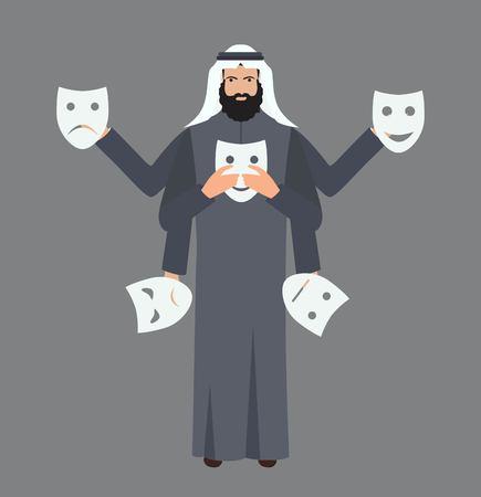 Theater masks art