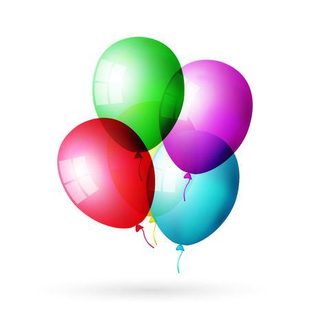 balloon set colored