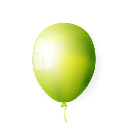 Big green balloon