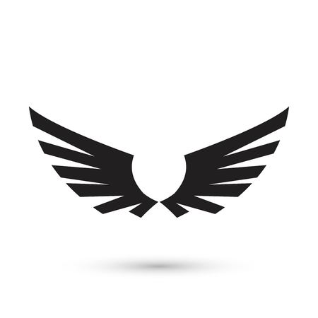 Angel Wings icon Vectores