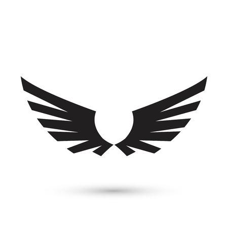 Angel Wings icon Illustration