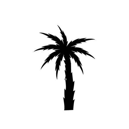 Palms tree icons Ilustrace