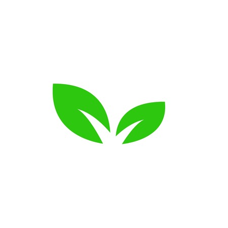 plant icon. sign design