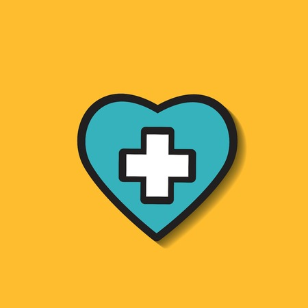 medical icons. Modern graphic design concepts.