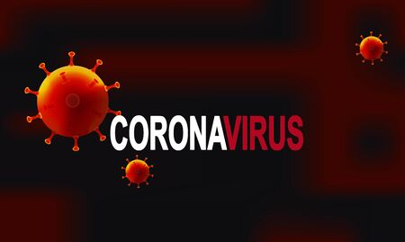China battles Coronavirus outbreak. Coronavirus 2019-nC0V Outbreak. Pandemic medical health risk, immunology, virology, epidemiology concept. 矢量图像