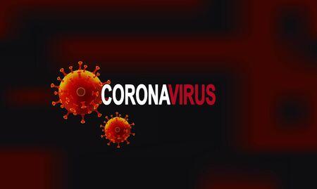 Coronavirus outbreak. Coronavirus 2019-nC0V Outbreak. Pandemic medical health risk, immunology, virology, epidemiology concept. 矢量图像