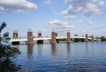spandau: bridge in spandau berlin