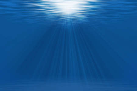 under water Standard-Bild