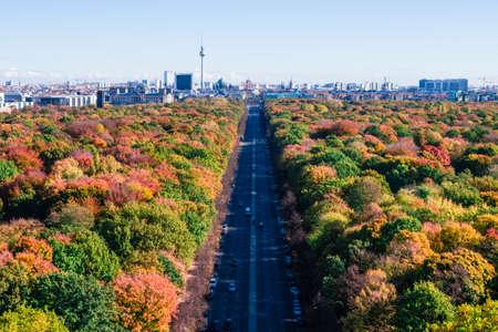 berlin panoramic view