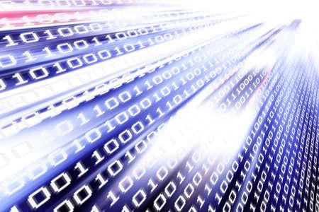 Datenübertragung, Datenrate, Datenverkehr Standard-Bild - 21056416