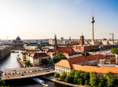panoramic view on berlin