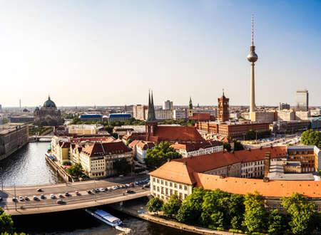 panoramic view on berlin