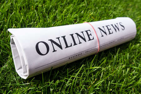 lates: online news newspaper on green meadow