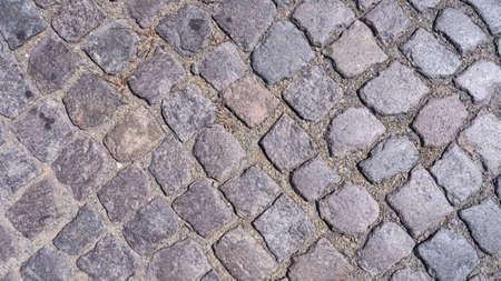 cobble: vecchio cobble sfondo di pietra