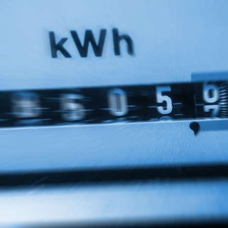 medidor de energia el Banco de Imagens