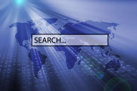 downloading content: search bar of search engine