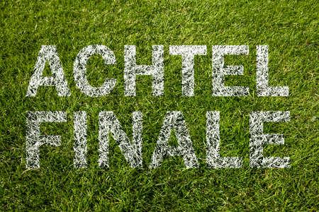 eighth: eighth final (achtelfinale german) on meadow