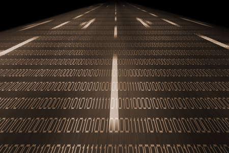 information superhighway: information highway background