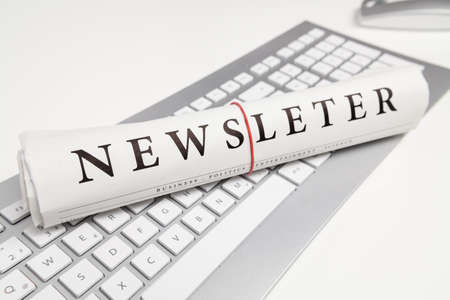 nieuwsbrief geschreven op krant