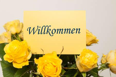 welcom: Welcom card (german)