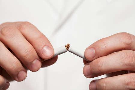 Aufhören zu rauchen Lizenzfreie Bilder