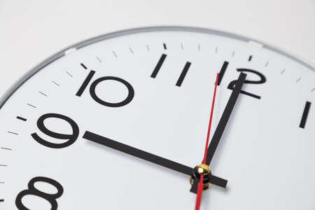 o'clock: 9 oclock Stock Photo