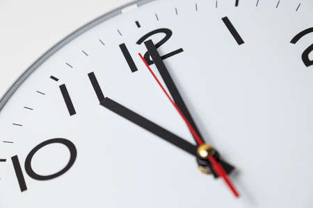 oclock: Eleven oclock Stock Photo