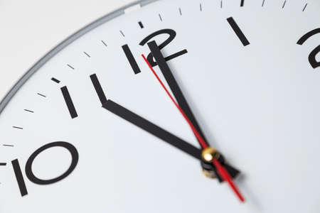 o�??clock: Las once en punto