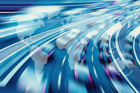 information superhighway: Global technology