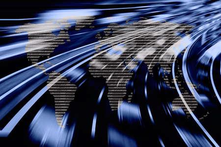 information superhighway: Data worldwide