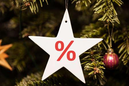 remission: Christmas Sale Archivio Fotografico