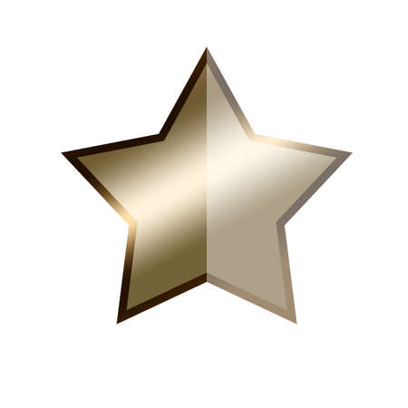 jewell: Half star (50 percent) on white