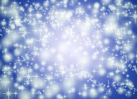 star background: Blue star background illustration